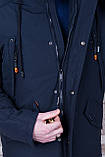 Чоловіча демісезонна куртка, синього кольору, фото 5
