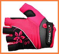Спортивные перчатки для велосипеда женские