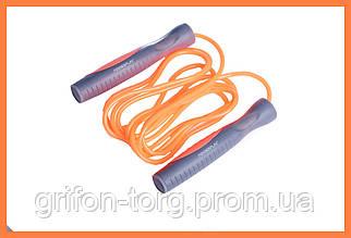 Спортивная скакалка Оранжевый