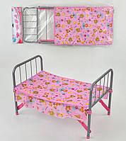 Кроватка для куколы в кульке. Кукольная кровать, мебель для куклы