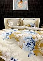 Постельное белье Lotus Premium Vanessa бежевое двухспальный евро размер