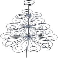 Подставка, стенд для пирожных, капкейков 23 шт W=310мм  H =285мм, нержавеющая сталь