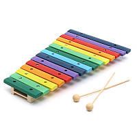 15 тонов Красочный деревянный курант для ксилофона для музыкального инструмента