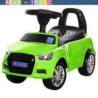 Каталка-толокар Bambi M 3147A-5 Audi Зелёный ФАРЫ-СВЕТ!!!