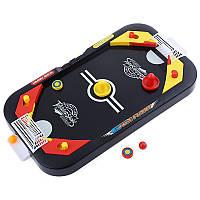 2в1мини-хоккейномстолеФутбол настольный бой турнир игра для детей семьи интерактивная игрушка