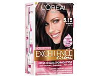 """185474. Фарба для волосся EXCELLENCE тон 5.15 морозний каштан.   ТМ""""L'OREAL"""""""