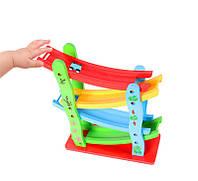 ДеревяннаялестницаFlyingАвтоДеревяннаящельная дорожка Авто Слайд-модель Игрушки для детей Дети Рождественский подарок