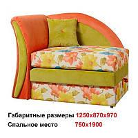 Диван детский Карапуз (Киевский стандарт) 1250х870h970 (сп.750х1900) мм