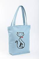 Сумка Стандарт флай «Кошка с бантиком»/ женская сумка