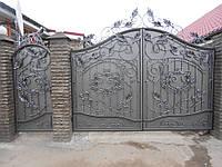 Кованые ворота, В-1