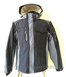 Куртка мужская, трекинговая, мод. R8ED+12, soft shell, синий