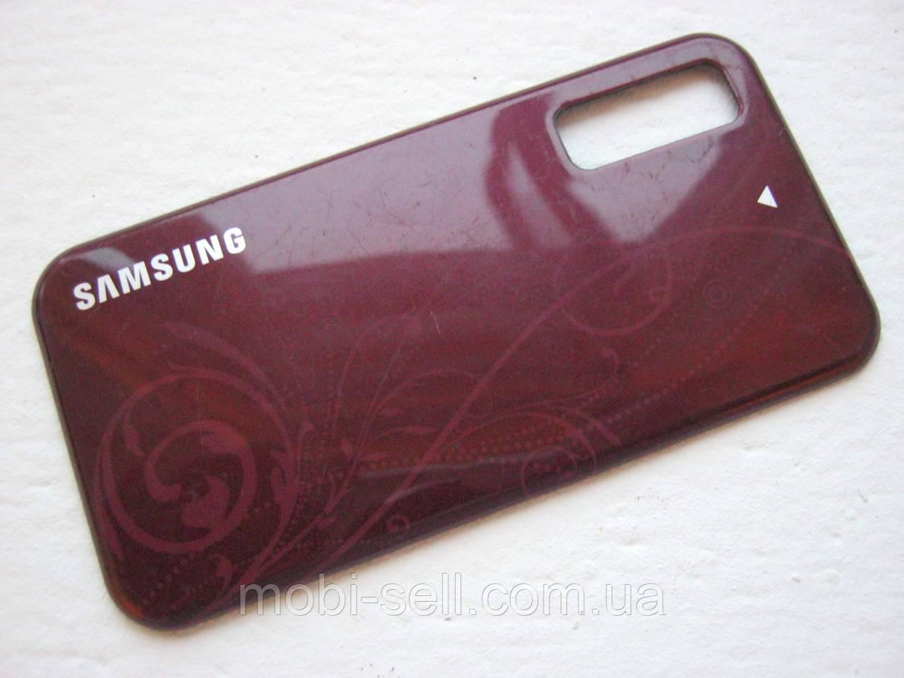 Задняя панель для Samsung S5230 La Fleur Б/У (крышка аккумулятора)