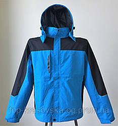 Ветровка мужская, трекинговая мод. FELIX, водонепроницаемая, синий/ченый цвет