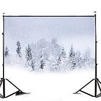 7x5FT Снежный фон с фоном для рабочего стола Фоновое фоном Studio 2.1x1.5m