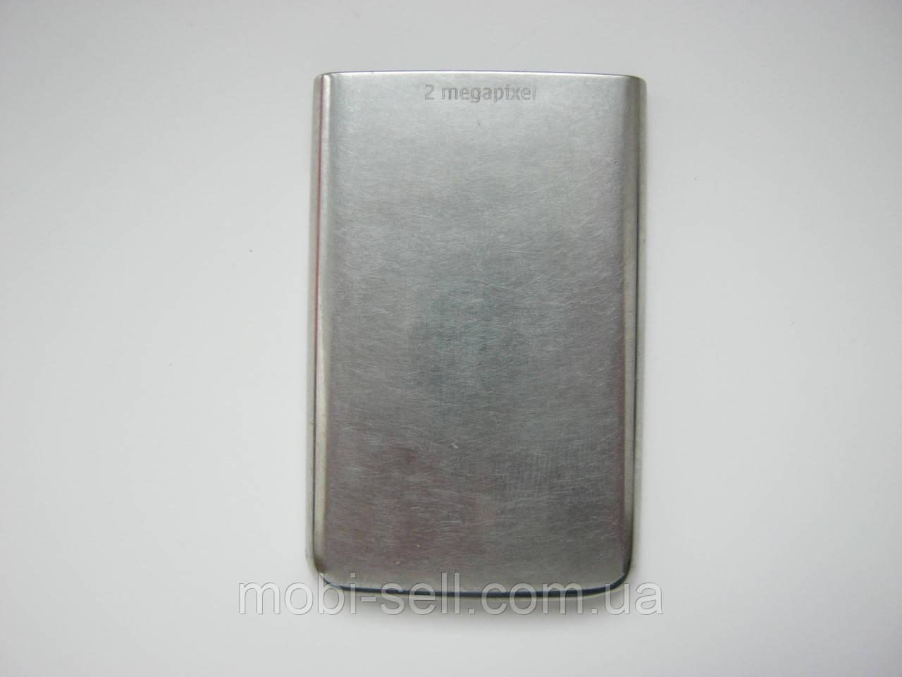 Задняя крышка для Nokia 6300 (металл, серебро)