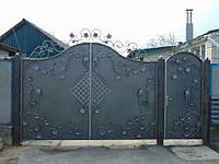 Ковані ворота В-3, фото 1