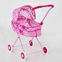 Коляска для куклы для девочек металл, зимняя, 4 дизайна. Игрушечная детская коляска