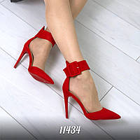 Туфли  Silvia  цвет  КРАСНЫЙ (11434)