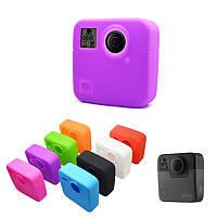 Силиконовый Защитный Чехол Кожаный чехол камера Аксессуары для GoPro Fusion 360 камера 8 Цвета