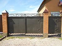 Кованые ворота В-6, фото 1