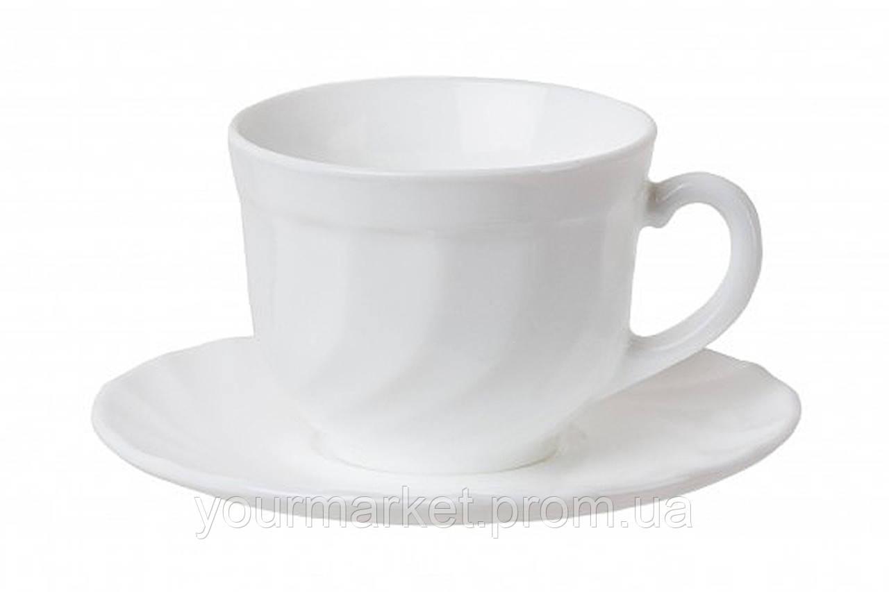 Чашка с блюдцем чайная Luminarc Trianon 220 мл 2 пр