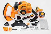 Триммер (мотокоса) Power Craft BK5940n - 4,0кВт (леска+нож 3Т)