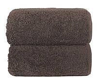 Махровое полотенце GRACCIOZA 50х100 см (коричневое), фото 1