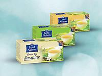 Чай зеленый Lord Nelson Green Tea/25 п./Германия