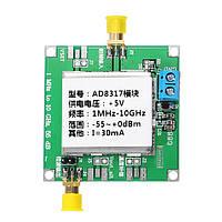 DC5V AD8317 Модуль RF Power Meter Логарифмический детектор Сигнал контроллера мощности Усилитель Fm HF VHF