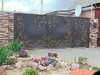 Ковані ворота В-9