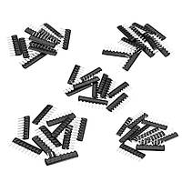500 штук 5 значений A09 9 Pin 2.54mm Resistor Pack Сетевой резистор Array Component Pack 100 штук Каждое значение A09-101 A09-102 A09-103 A09-471