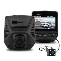 AzdomeA305DДвойнойОбъективАвтоВидеорегистратор Новатэк 96658 Sony IMX323 Видеомагнитофон для видеокамеры с тылом камера