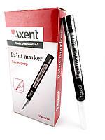 "Маркер лак-краска Paint, белый, толщина письма 1,8-2,2 мм, круглый ""Axent"" № 2571-21"