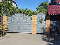 Кованые ворота, В-11