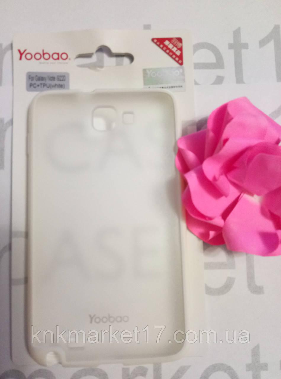 Yoobao PC+TPU for i9220 Galaxy білий