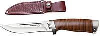 Нож охотничий 2290 LP (кожа) (нескладной нож для охоты) MHR /05-41