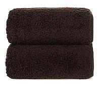 Махровое полотенце GRACCIOZA 50х100 см (темный шоколад), фото 1