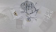 Люстра потолочная на 3 лампочки YR-75766/3-ch