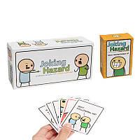 Игра-головоломкасшуточнымииграмиKickstarterCyanide and Happiness Коробка+Расширение 1 Party Fun Toys