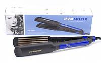 Утюжок гофре с регулятором температуры для волос Pro Mozer MZ-7057A