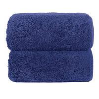 Махровое полотенце GRACCIOZA 70х140 см (темно-синий), фото 1