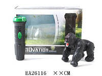 Животное горилла + фонарик в наборе 9983