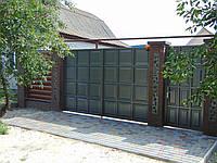 Ворота з фільонки  В-12