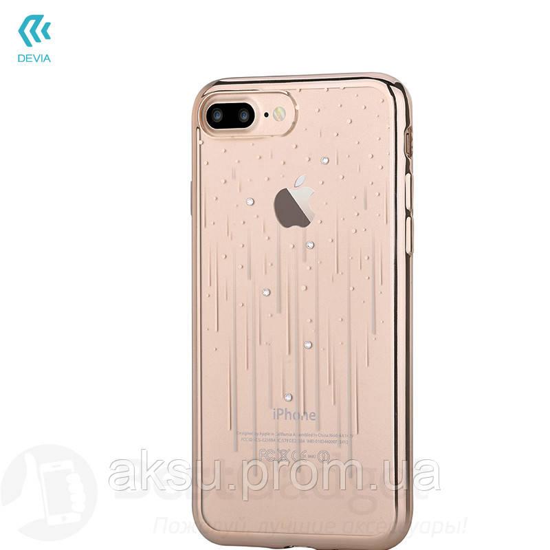 Чехол Devia Crystal Meteor Soft Case iPhone 7Plus/8Plus Champagne Gold