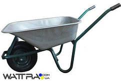 ⭐ Тачка строительнаяFORTE WB6414T (170 л / 160 кг) (31247) одноколесная с усиленной рамой