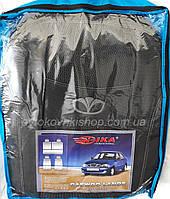 Авточехлы Daewoo Lanos 1997- (тёмно-серый) Nika