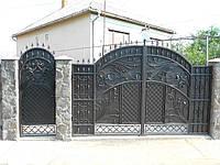 Кованые ворота В-18