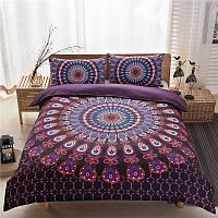 Комплект постельных принадлежностей 3шт.Комплект постельных принадлежностей Mandala для постельного белья Soft Чехол чехол для чехлов с чехло