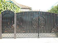 Ворота з профнастилу, В-19, фото 1