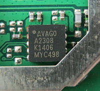 Микросхема VAGO A2308 (K1406  MYC498) (Б/У, разборка Lenovo A516)